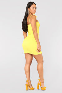 I'm Dreamin' Dress - Yellow