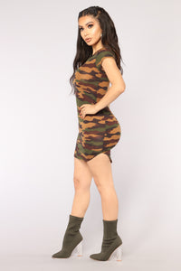 Tough And Tender Tunic - Camouflage