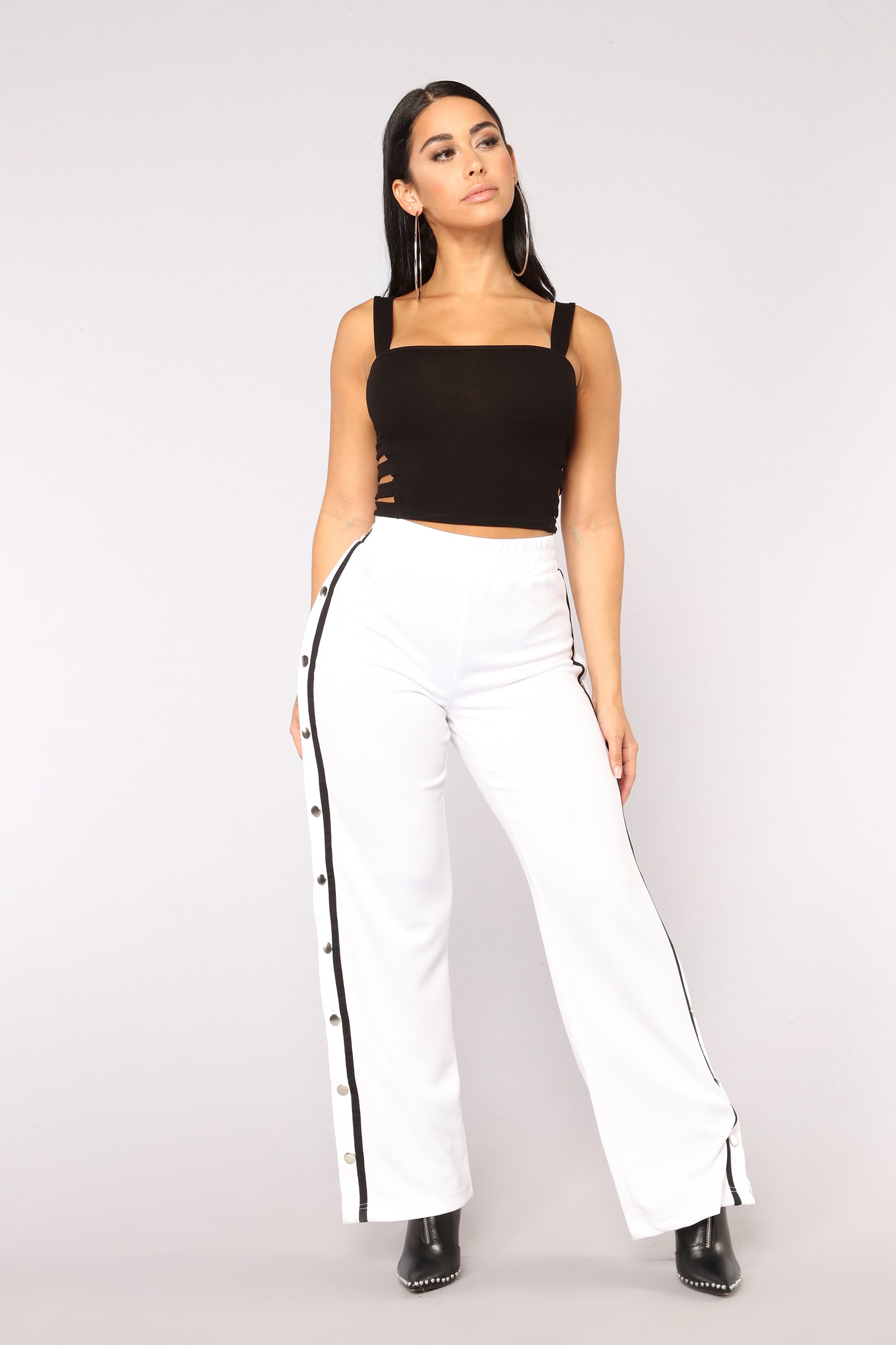 a6fc475b717bfd You re Cut Off Crop Top - Black