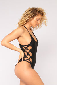 Kamikaze Swimsuit - Black