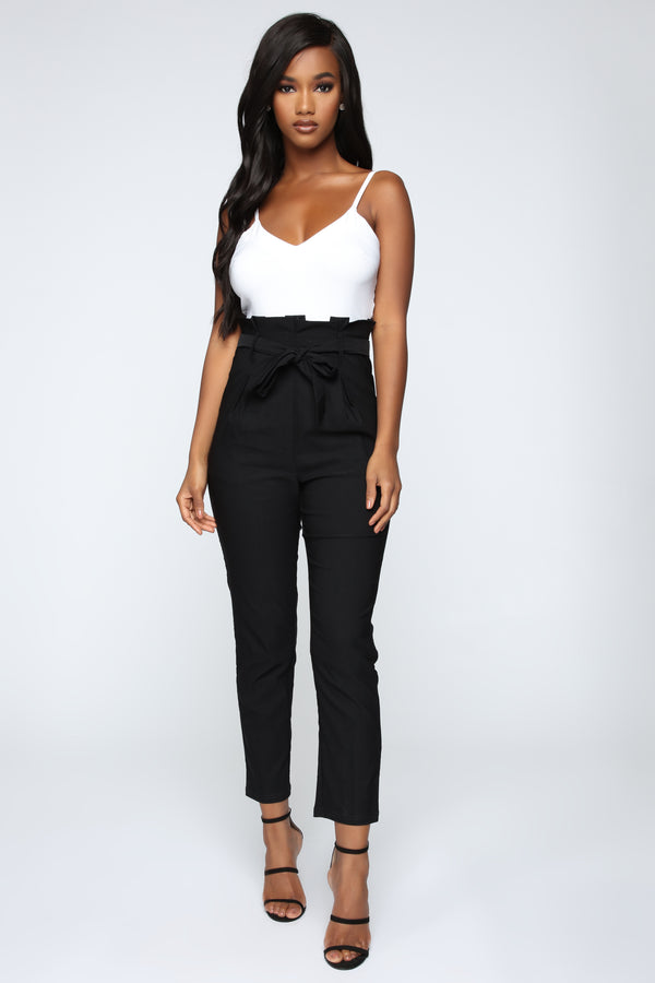 845fd689f91 Countless Times Jumpsuit - Black White