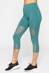 My Fave Gym Legging - Teal