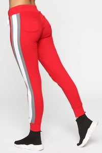Chrissy Jogger - Red