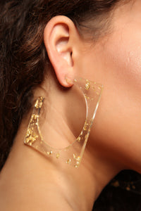 Just My Type Earrings - Gold