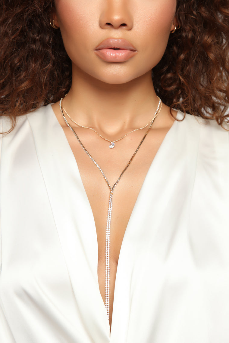 Layers Later Necklace - Gold