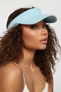 Your Honest Ad Visor - Baby Blue Angle 2
