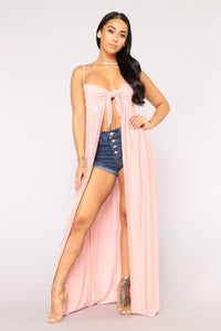 Angel In Disguise Top - Mauve