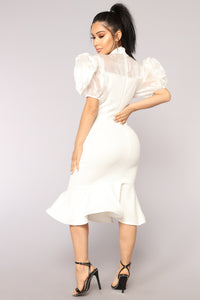 All About Makin' Moves Dress - Ivory