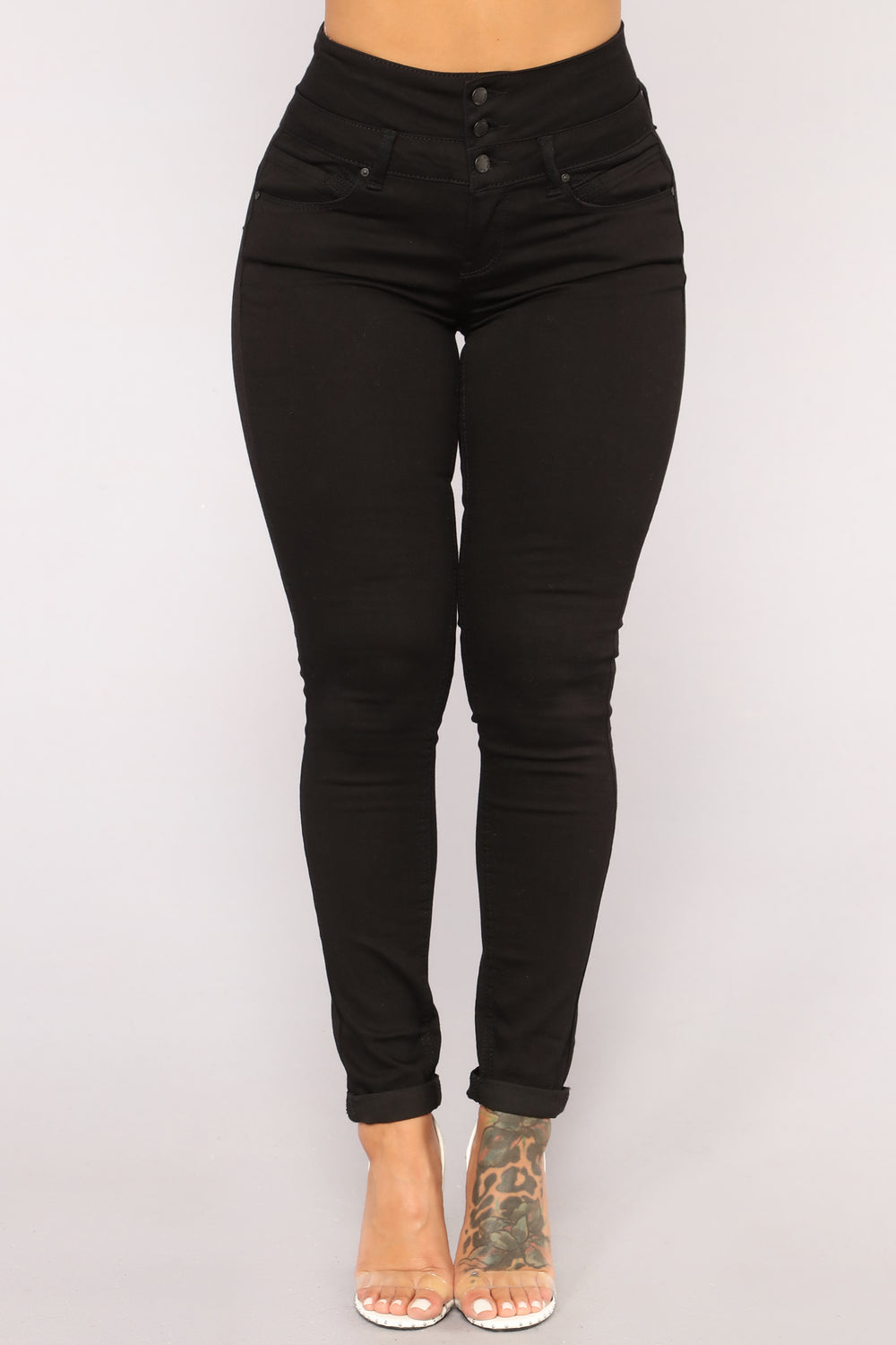 Detention Booty Lifting Jeans - Black