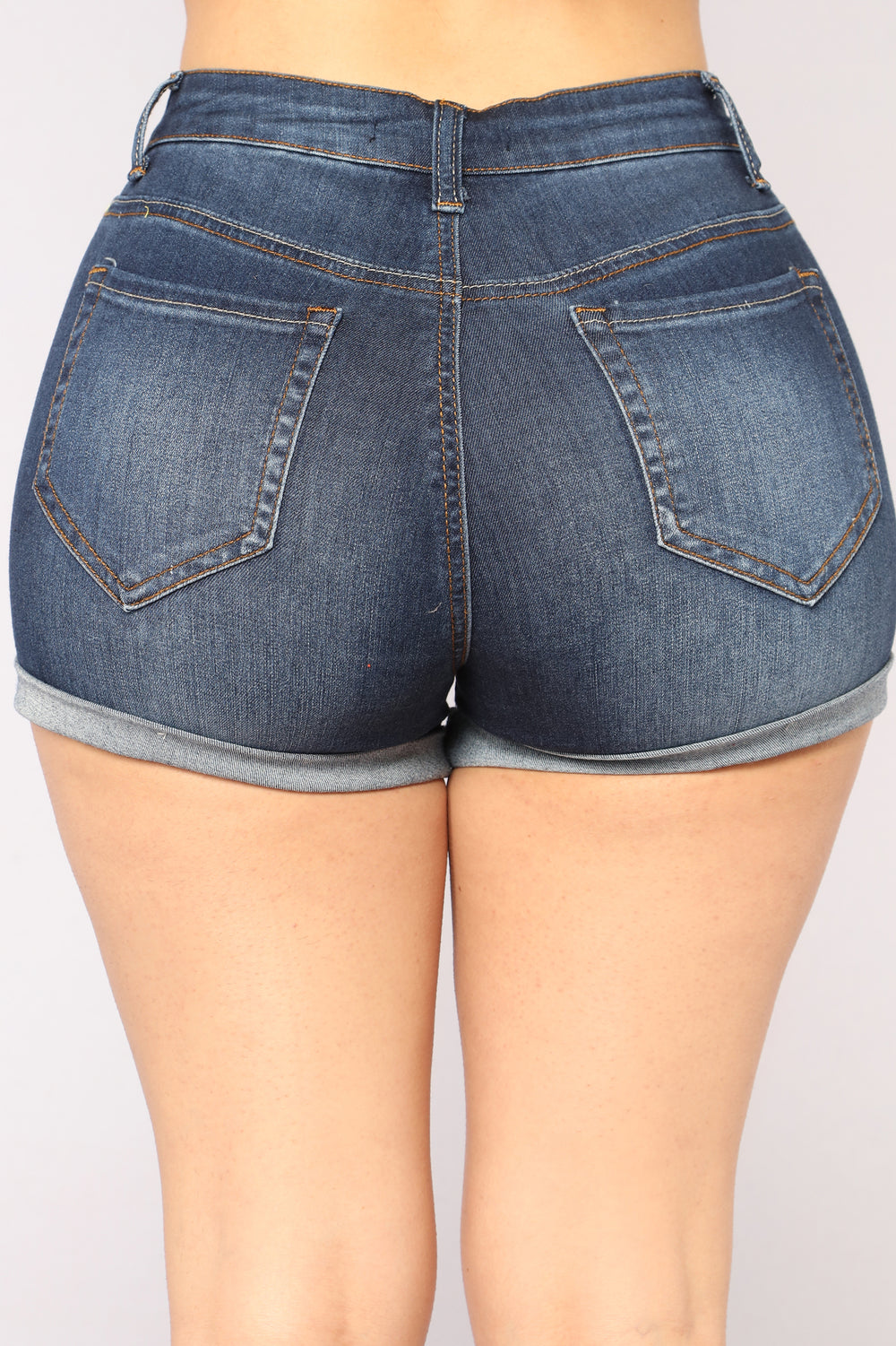 Summer Daze Denim Shorts - Dark Denim