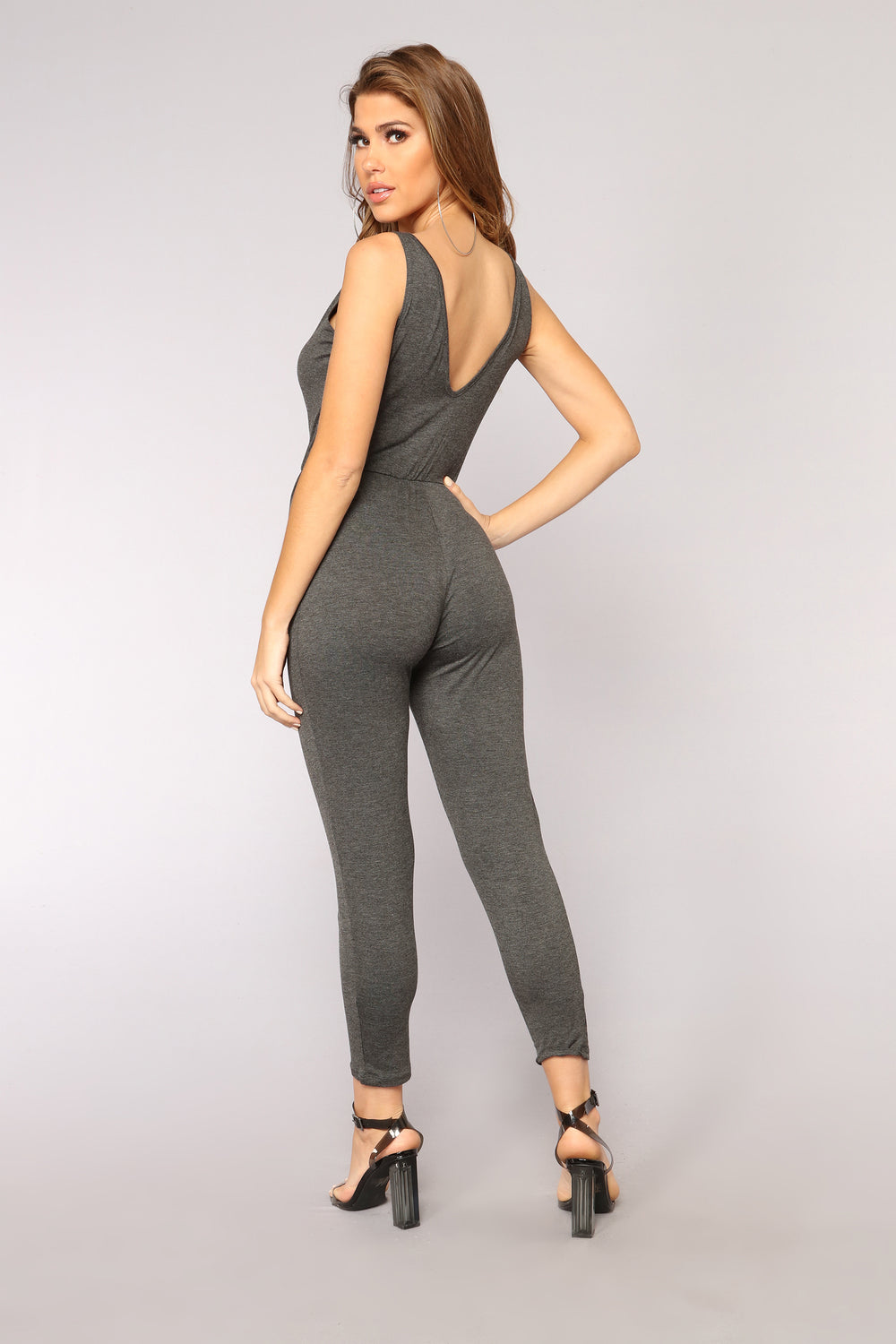 Murry Jumpsuit - Charcoal