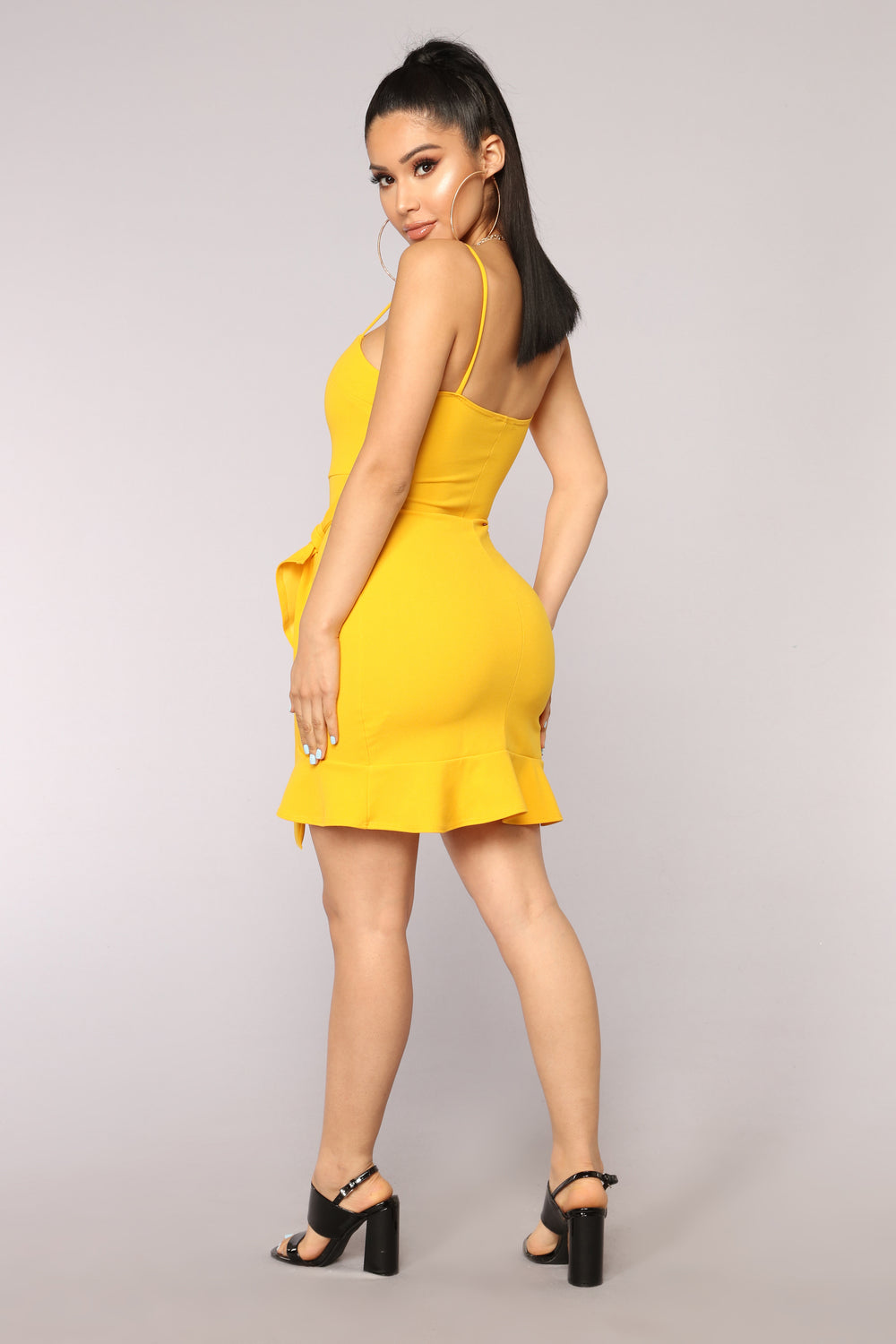 I'm What You Want Dress - Yellow