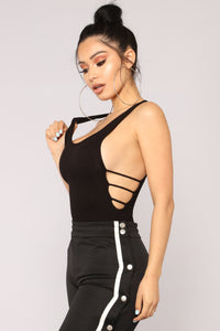 A Lot To Admire Bodysuit - Black