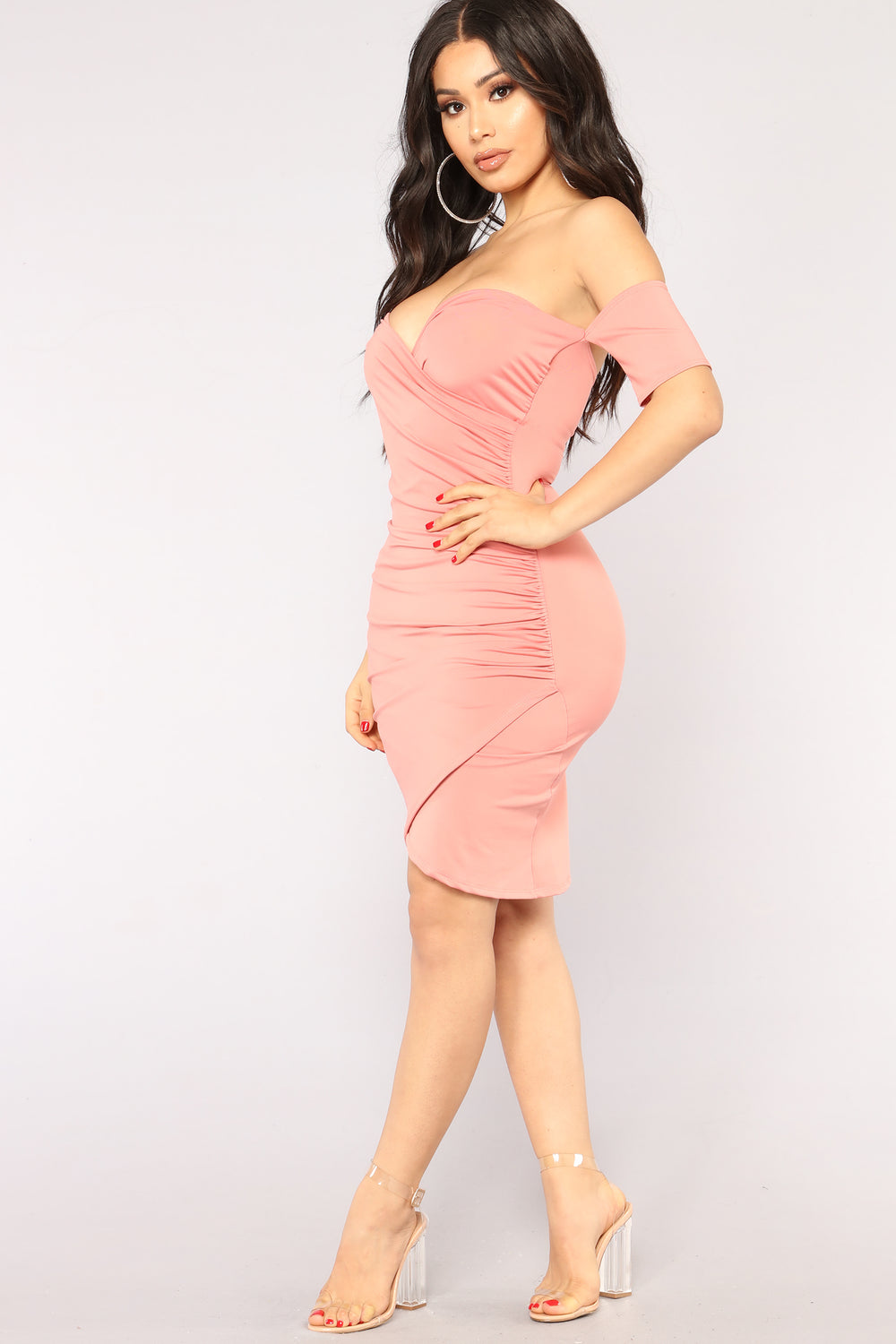 Kassia Dress - Mauve