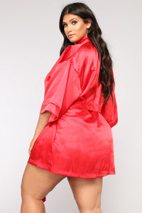 Lotus Robe - Red Angle 6