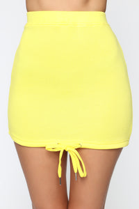 Marina Drawstring Set - Yellow