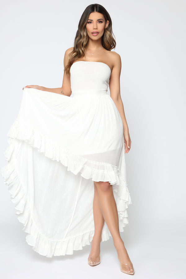 All White Party Dresses Cheap