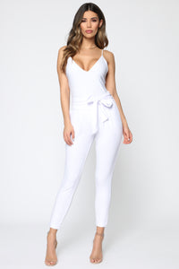 Booked And Busy Pants - White Angle 1