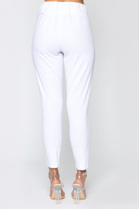 Booked And Busy Pants - White Angle 6