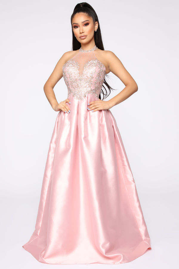383146067c0 A Real Princess Gown - Blush