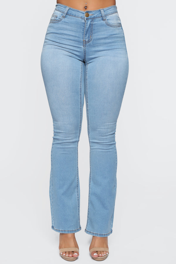 fe067c9b Started From The Bottom Jeans - Light Blue Wash
