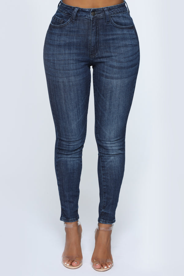 248d5ea1d7e A Little Closer Skinny Jeans - Dark Denim