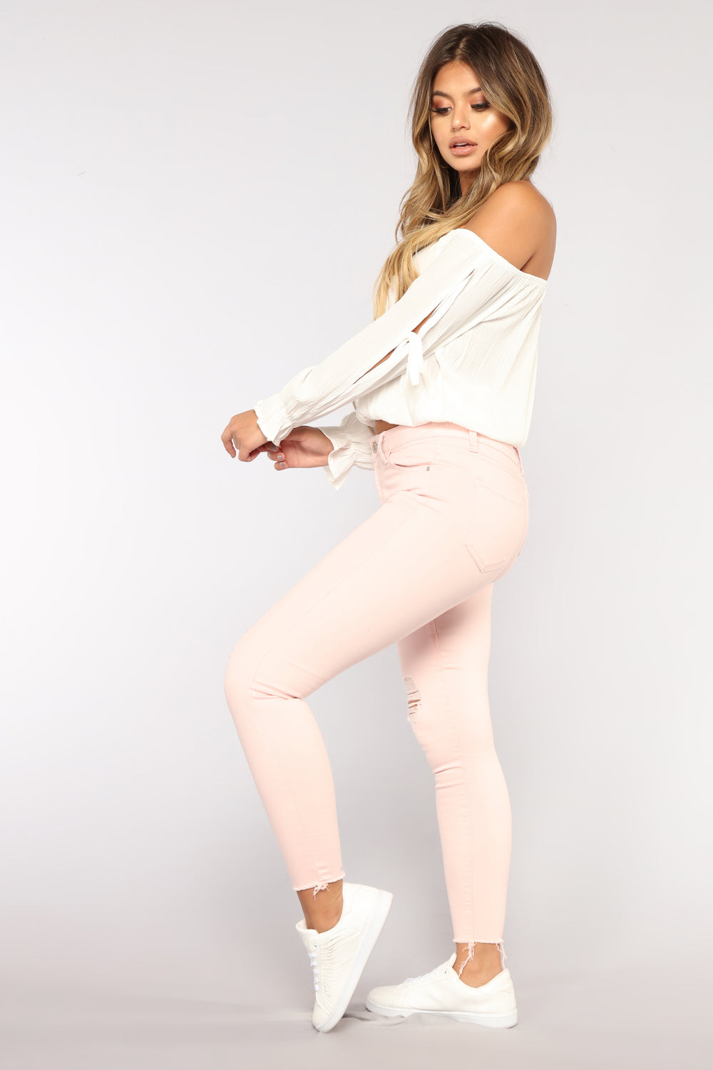 Pinkalicious Distressed Jeans - Pink
