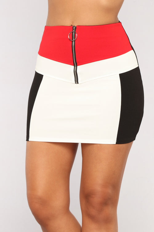 Petit Amour Skirt - Red
