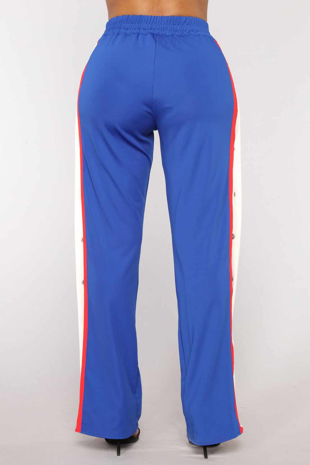 Big Baller Snap Pants - Blue