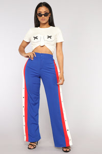 X Marks The Spot Tie Front Top - Ivory