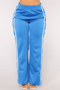Playa Alert Snap Pants - Blue/Combo