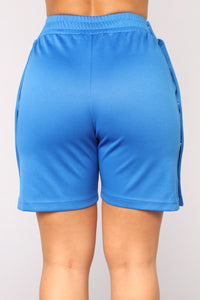 Don't Hate The Playa Shorts - Blue/Combo