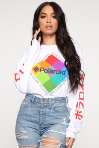 Polaroid LS Top - White