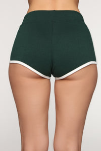 Emerson Dolphin Shorts - Hunter Green