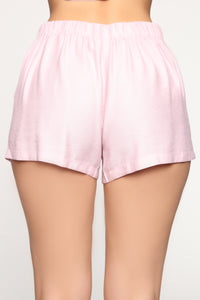 Tayla Short Set - Pink