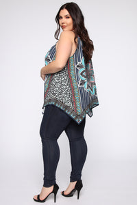 Your Kaleidoscope Dreams Top - Navy Angle 8