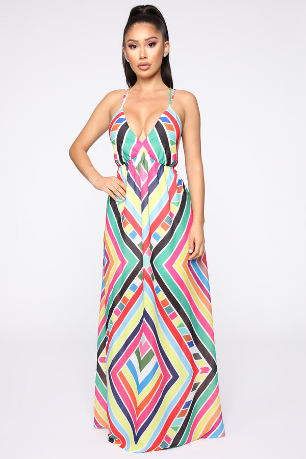 5eba5ba5cd2 Shaping The Future Maxi Dress - Multi
