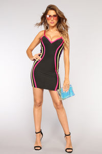 Jadyn Bandage Dress - Black