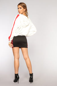 Race You There Skirt - Black