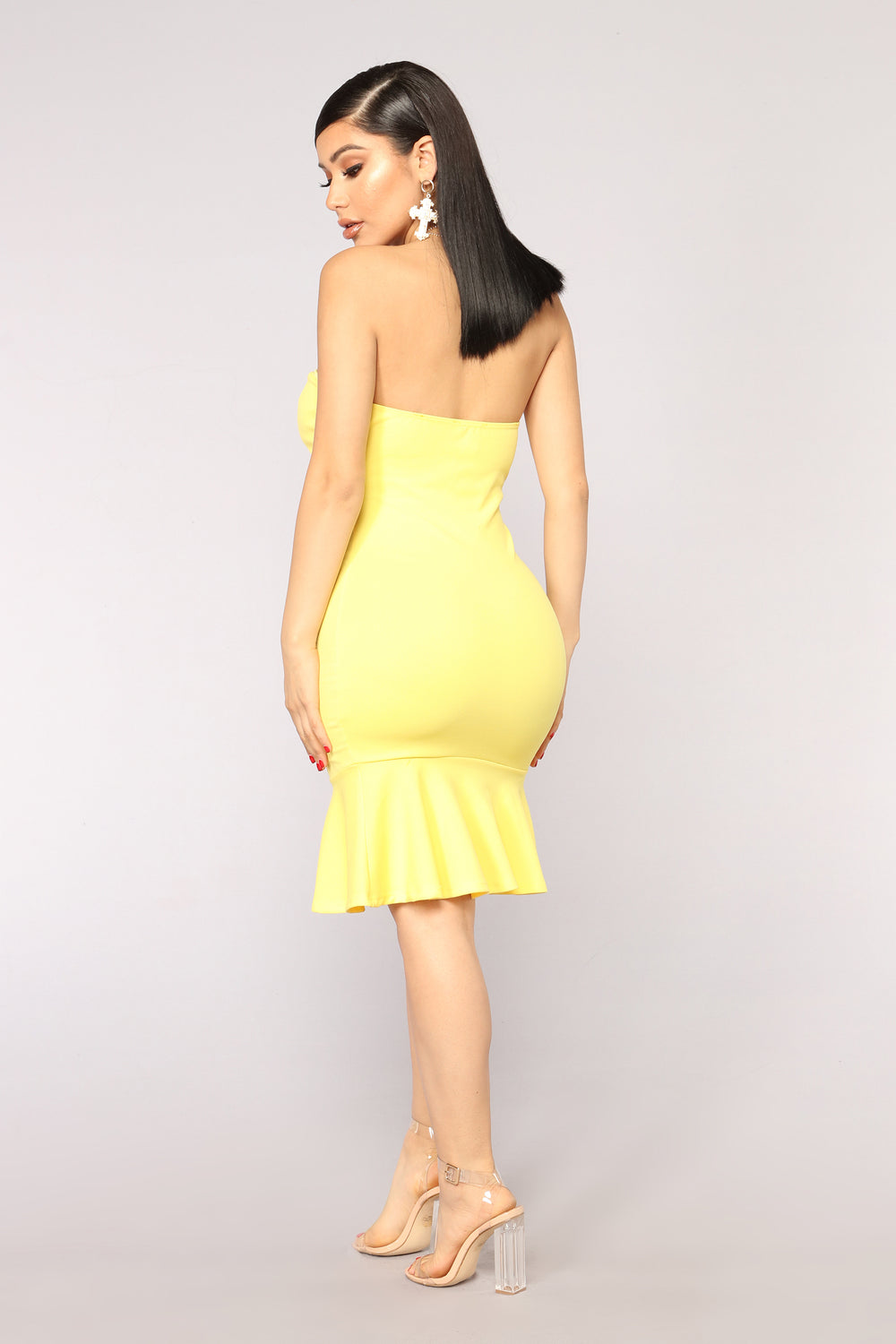 Deeanne Tube Dress - Yellow