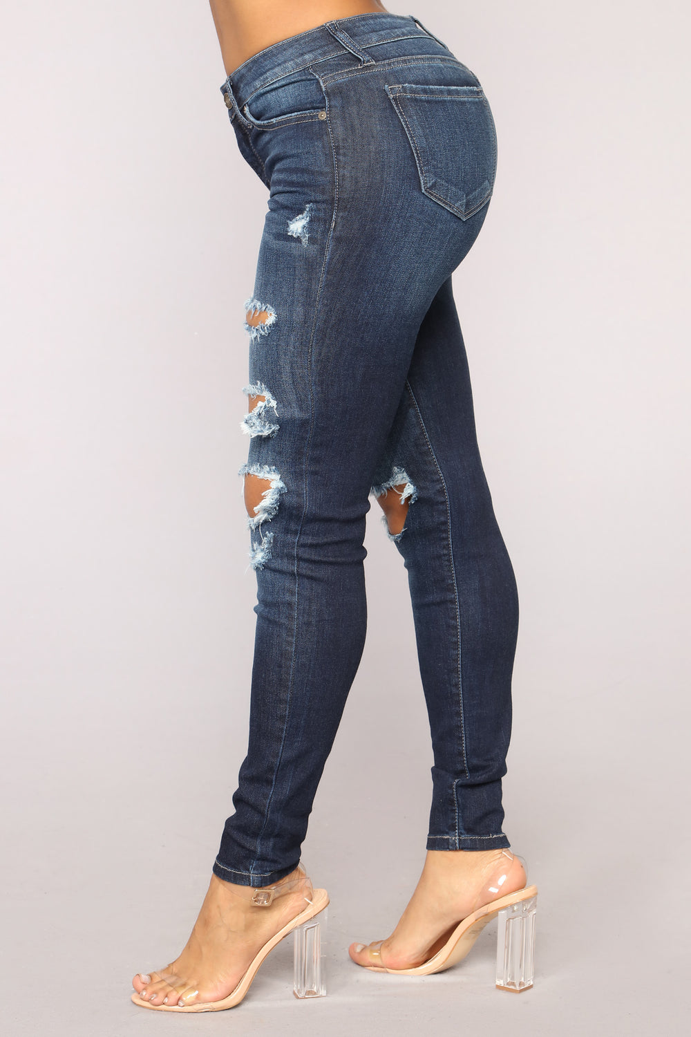 Saint High Rise Jeans - Dark Denim