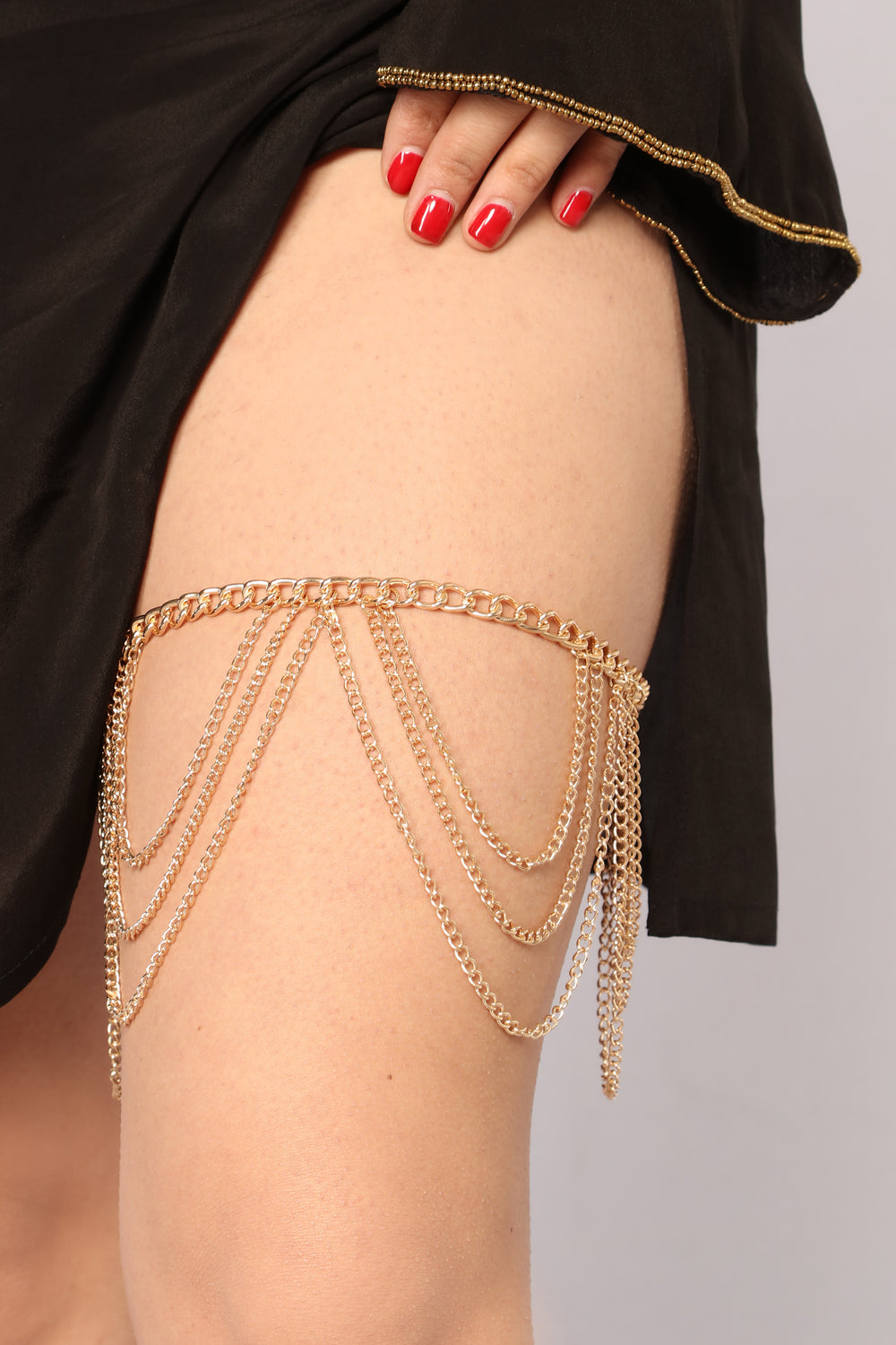 Dalena Thigh Chain - Gold
