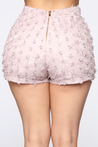Sweet Baby Angel Short Set - Pink