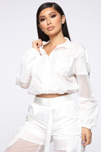 Serving Looks Lounge Set - White