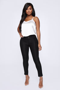 Get It Right Skinny Pants - Black