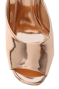 Emotionally Unavailable Heel - Rose Gold Angle 3