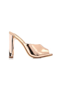 Emotionally Unavailable Heel - Rose Gold Angle 1