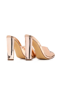 Emotionally Unavailable Heel - Rose Gold Angle 4