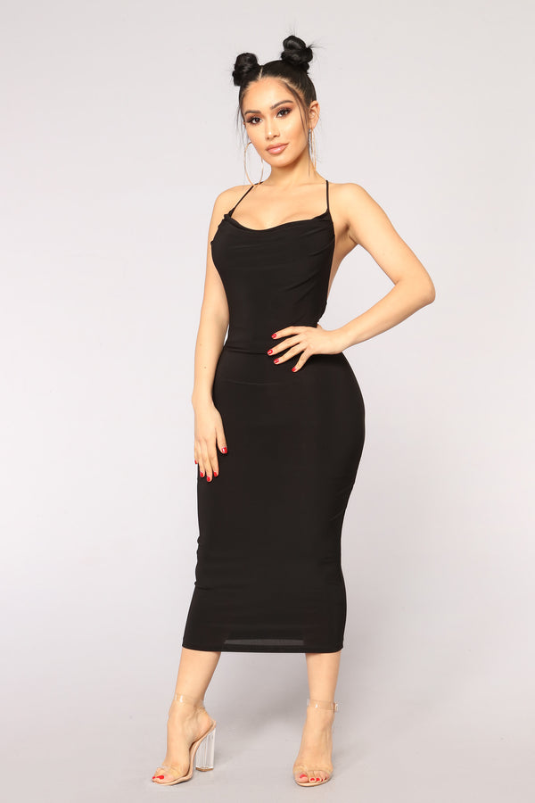 be8bbf50ed Night With My Lover Dress - Black
