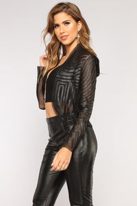 Cool Girl Jacket - Black